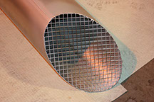 quench vent mesh outlet