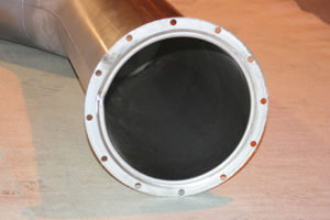 quench vent flanges