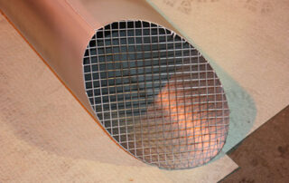 Quench Discharge Mesh